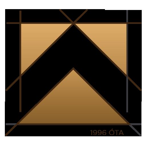 fenyőker fatelep logo embléma fenyő fűrészáru fakereskedés tüzép