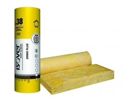 fenyőker-fatelep-termékek-minőség-megbízhatóság-hőszigetelő-üveggyapot-tekercses-hőszigetelés-isover-domo-plus-twin